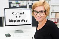 Content veröffentlichen auf Blog im Web